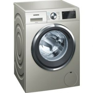 Máquina de Lavar Roupa SIEMENS 9 kg – 1400 rpm – Inox)